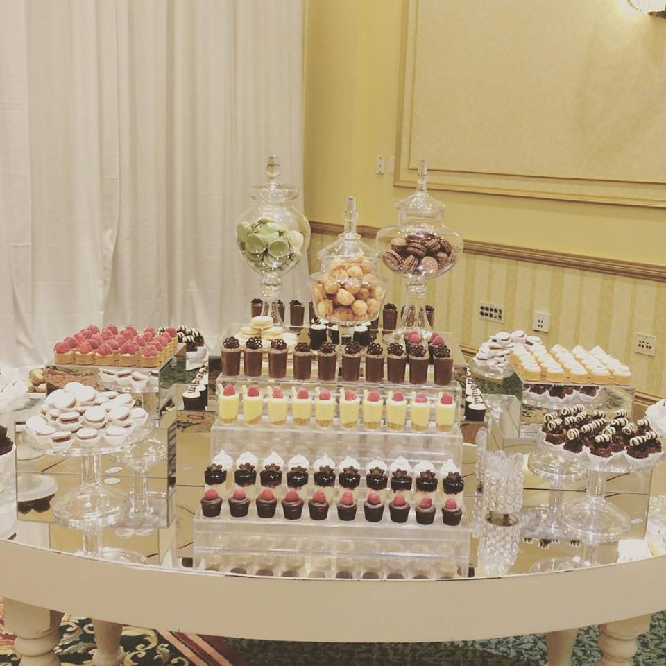 wedding dessert table by catalina s catalina 39 s bake shop. Black Bedroom Furniture Sets. Home Design Ideas